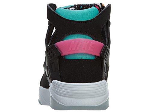 Nike Flight Huarache (gs) Scarpe Da Ginnastica Alte 705281 Scarpe Da Ginnastica Black / Light Retro-pink Power