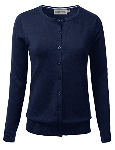 Light Blue Cardigan Sweater - 9