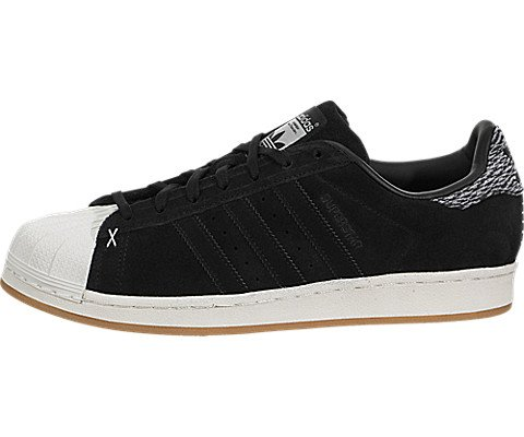 Adidas Men's Superstar Originals Cblack/Cblack/Owhite Casual Shoe 10.5 Men US