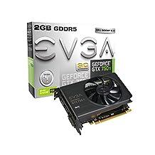 EVGA GeForce GTX 750 Ti Superclocked with G-SYNC Support 2GB GDDR5 128 Bit, Dual-Link, DVI-I, HDMI, DP 1.2 Graphics Card (02G-P4-3753-KR)