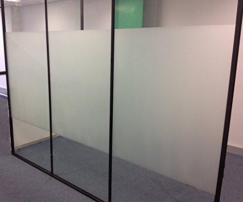 Aingoo Fensterfolie Sichtschutzfolie Milchglasfolie Window Film 90x200cm Style 2