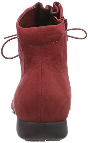 Think! THI Boot - botas de caño bajo de cuero mujer Rojo (ROSSO/KOMBI 72)