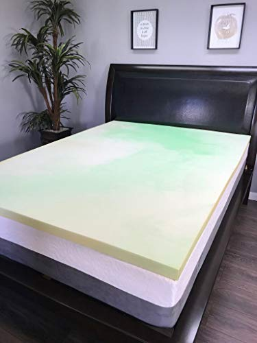 4lb Gel Infused Memory Foam Topper Made in The USA 72×80 (RV King)