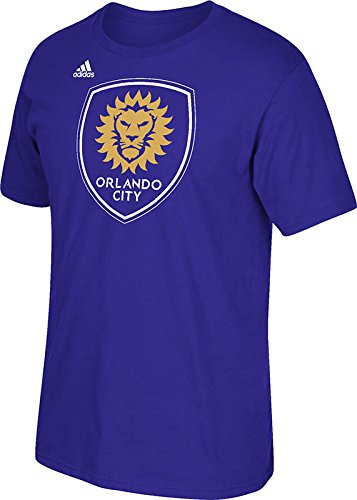 Orlando City Soccer Club Primary Logo Purple T-shirt Large - Sounders Gear