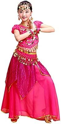 Grouptap Bollywood niños Indio árabe Princesa Danza del ...