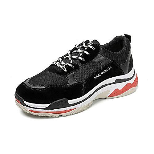 金銭的道徳教育シマウマメンズ軽量スポーツシューズ韓国人メンズ厚手靴シニア靴カジュアルシューズトレンド学生紳士靴