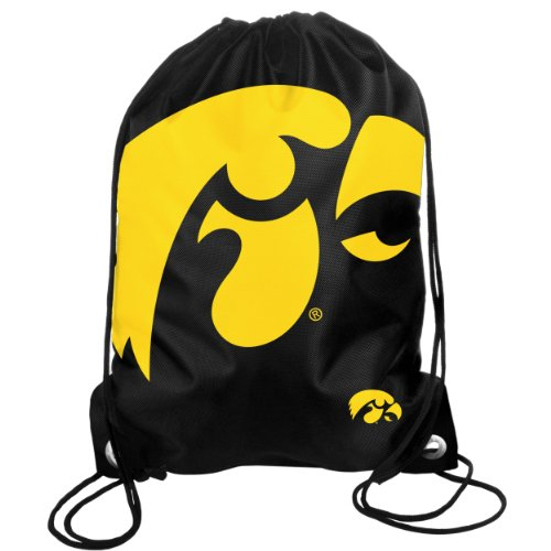 Forever Collectibles NCAA Iowa Hawkeyes Drawstring Backpack