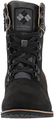 Neve Columbia Mid Wp black Grey Stivali Nero Steel Da Ave Donna Twentythird Ti CrwxqFYtr