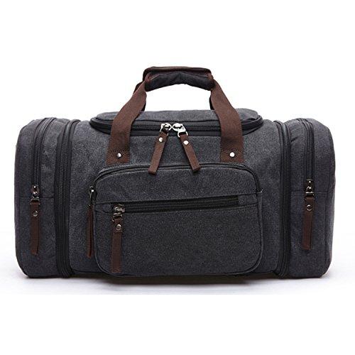Outreo Bolso Bandolera Vintage Messenger Bag Hombre Bolsos de Tela Bolsos Originales Bolsas de Viaje para Colegio Escolares Libro Tablet Bolsa