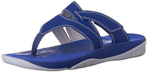 CLARKS Womens Tresca Track Flip Flop Blue x1BHx8Vr