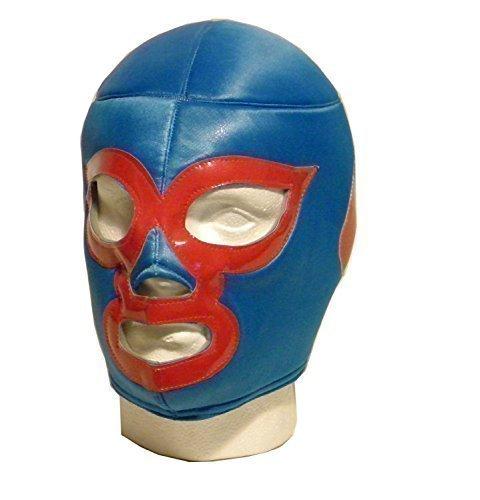WRESTLING MASKS UK Men's Nacho Libre Luchador Wrestling Mask One Size Multicoloured by Wrestling