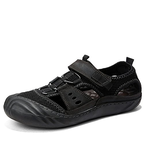 Scarpe 0 Comfort Sport CM Wagsiyi spiaggia 27 Da pantofole Da Traspiranti Uomo 24 da Slip Scarpe 0 Outdoor Spiaggia Nero Sandali xTqAxZ