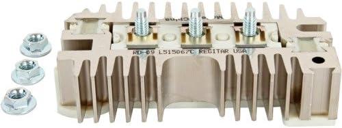 Db Electrical Adr1201 neu Rectifier für Delco 10Si 20Si Alternator 37, 63, 72 oder 75 Amp Chevy Pontiac 130673 1891055