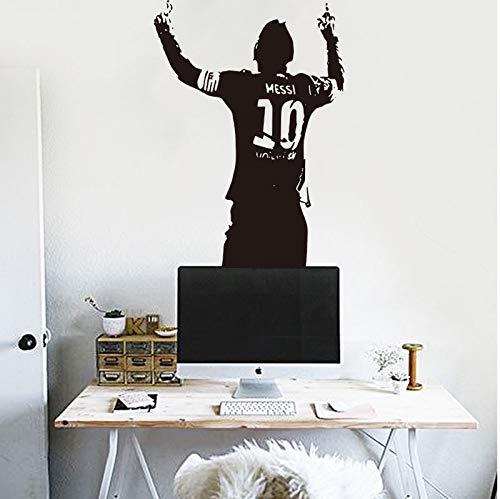 Ami0707 Tatuaje de Pared Victory Moment of Messi Football Star ...