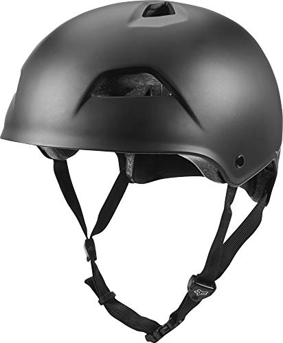Fox Head Flight Trail Bike Helmet (Black, Large)