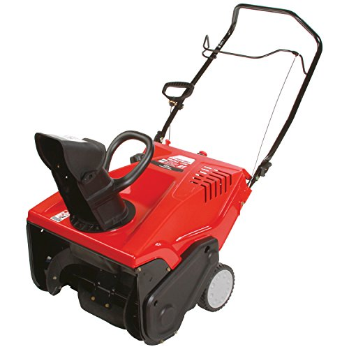 Troy-Bilt Squall 210E 123cc Electric Start 21-Inch Single Stage Gas Snow Thrower by Troy-Bilt