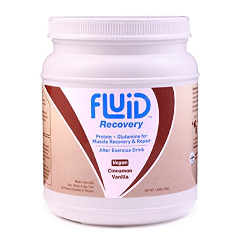 Fluid Recovery VEGAN Cinnamon Vanilla Canister - 16 Servings