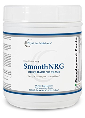 SmoothNRG Revitalizing Energy Drink Mix Berry Flavor