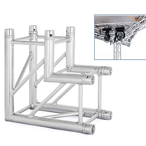 (Mophorn Lighting Trussing 0.5M 1.6 FT /20 Inch Square Aluminum Box Lighting Trussing 0.95-Feet in Length Fits Global Truss F34 (20″x20″x11″))