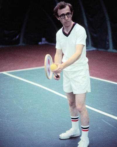 Woody Allen Annie Hall Playing Tennis 11x14 Hd Aluminum Wall Art At Amazon S Entertainment Collectibles Store