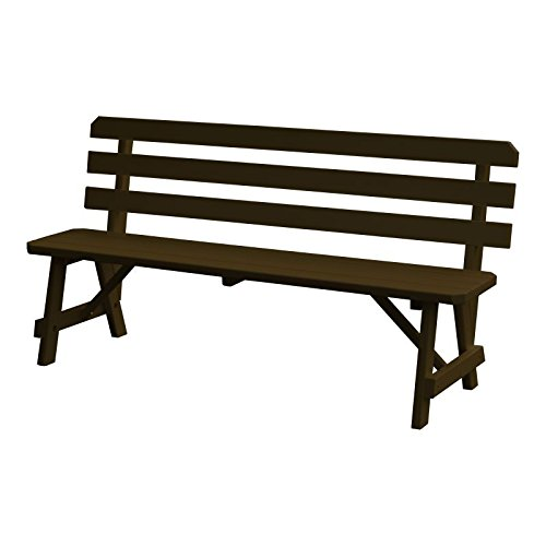 6' Backed Bench - 5