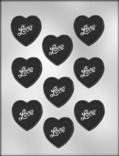 CK Products 90-1501 Heart with Love Chocolate Mold, 2