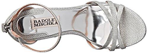 Badgley Mischka  Signify, Sandales pour femme argent Silver