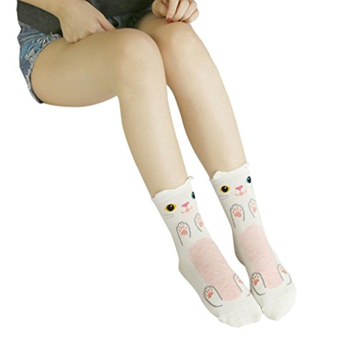 5eb6a5ed2 Hot Sale!Todaies Cute Socks Lovely Cartoon Animal Zoo Women Socks Ladies  Girls Cotton Warm Soft Sox (Free Size