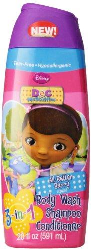 Disney Doc McStuffins 3 in 1 Body Wash, 20 Ounce