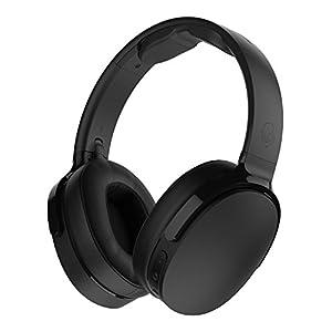 Skullcandy Hesh 3 Foldable Wireless Bluetooth Over-Ear Headphones with Microphone, 22-Hour Battery Life, & Memory Foam Ear Cushions (Black)