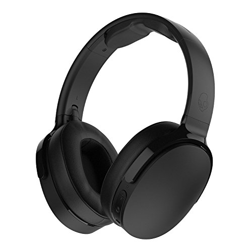 Skullcandy Hesh 3 Foldable Wireless Bluetooth Over-Ear Headphones with Microphone, 22-Hour Battery Life, & Memory Foam Ear Cushions (Black)