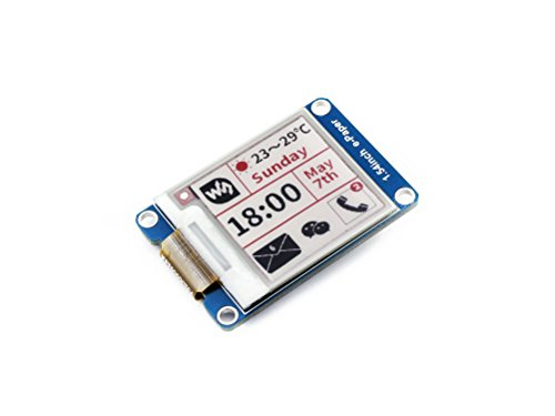 Three-color 1.54inch E-Ink Display Module 200x200 Tri-color Electronic E-paper Screen Panel SPI Interface Compatible with Raspberry Pi/STM32/Nucleo (Best E Ink Display)