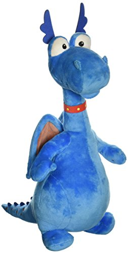Disney Blue Doc McStuffins Stuffy Dragon Adorable Animal Plush Stuffed Toy Gift by speed up (Christmas Ducktales Carol)
