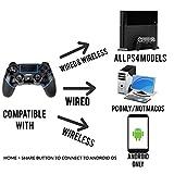 PS4 Controller Sades Wireless Controller for