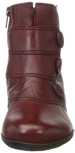 Gabor Shoes Gabor Casual, Bottes Femme Rouge (55 Dark-red)