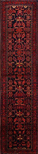 Rug Source Geometric Tribal Nahavand Hamedan Palace Sized Runner Rug 4x16 for Hallways (16' 2'' x 3' 9'')
