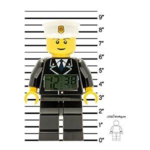 LEGO Despertador con luz Infantil con figurita de policía City 9002274 6
