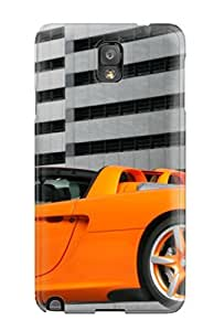 Hot Fashion DZIdqTS4470EOpsn Design Case Cover For Galaxy Note 3 Protective Case (orange Car In An Underground Parking)