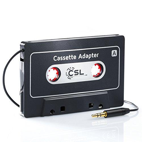 Noir Belkin Adaptateur Cassette avec Sortie jack 3,5mm pour Smartphone et Tablette
