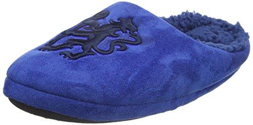 Bafiz Chelsea Home, Pantuflas para Hombre Azul (Blue/Navy 34U)