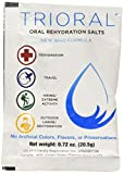 TRIORAL - Oral Rehydration Salts ORS (15, One Liter Packets/Box) World Health Organization (WHO) New Formula for Food Poisoning, Hangovers, Diarrhea, Electrolyte Replacement
