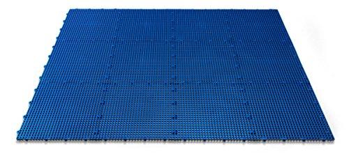 DuraGrid ST24GRAY Comfort Tile Interlocking Modular Multi-Use Safety Floor Matting (24 Pack), Gray, Piece by DuraGrid® (Image #2)