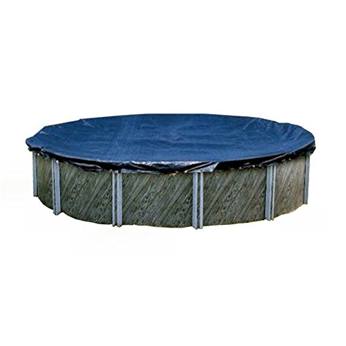 Swimline S28RD 28' Winter Round Above Ground Swimming Pool Cover Blue - Ground Winter Cover