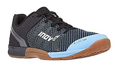 Inov-8 Women's F-Lite 260 Knit (E) Fitness and Cross Training Shoes, Blue, 6.5 US