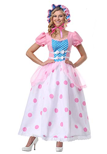 Women's Bo Peep Plus Size Costume 1X Pink ()