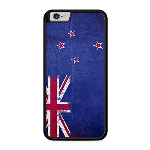 Neuseeland Grunge - SILIKON Hülle für iPhone 6 & 6s - TPU Cover Case Schutz Schale Flagge Flag New Zealand