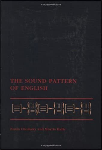 the sound pattern of english the mit press