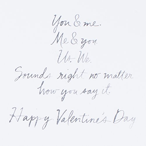 Hallmark Signature Valentine's Day Greeting Card (You and Me) Photo #6