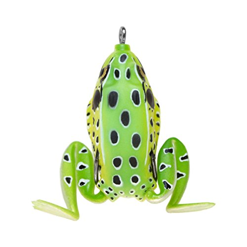 Lunkerhunt PF03 Pocket Frog Series 2.5-Inch Leopard Style Fishing Lure