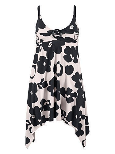 Melrose Blümchen Kleid Strandkleid Minikleid Gr. 34